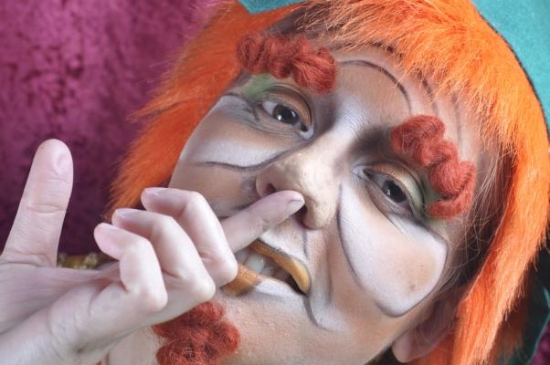 """Maquillaje Caracterización """"Duende"""" – Maquillaje: Iratxe irizar / fotografia: Lucia Camarena / Modelo: Idoia Irizar"""