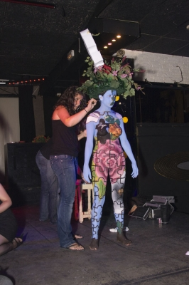 Body Painting – Puzzle (Maquillaje: Iratxe Irizar / Fotografia: Ainhoa Gracia)