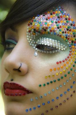 Maquillaje de Fantasia – Arco Iris (Maquillaje y Fotografia: Iratxe Irizar)