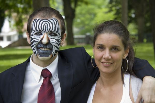 Maquillaje Cebra – Verano TB