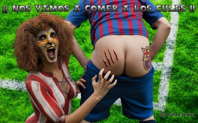 Final Copa del Rey Athletic – Barça (25-05-2012) / Maquillaje y Fotografia: Iratxe Irizar