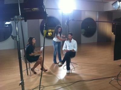 """Programa """"Frente a Frente""""  de la CNN / Entrevista Ana Pastor a Rafa Nadal"""