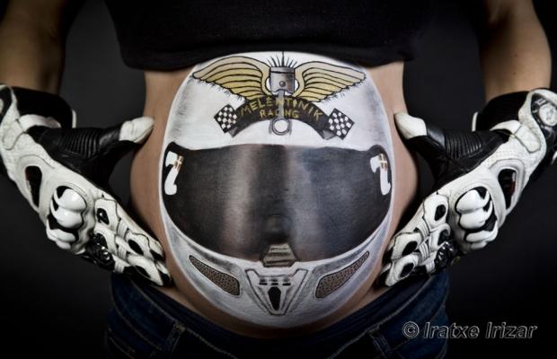 Body Painting Embarazada – Maquillaje y Fotografía: Iratxe Irizar
