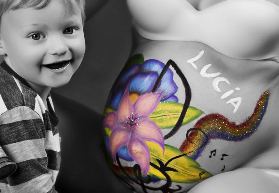 Bodypainting Embarazadas – Maquillaje y Fotografía: Iratxe Irizar